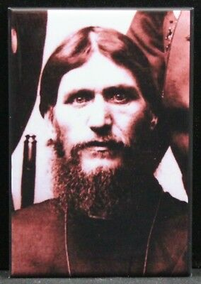 "Rasputin The Mad Monk Locker Magnet. The Reptile 2/"" X 3/"" Fridge"
