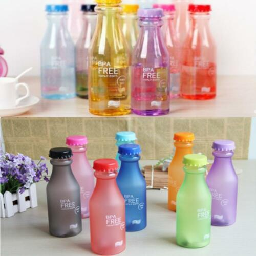 Reusable Portable Leak-proof Water Bottle Outdoor Travel Camping Cycling Cup HS3
