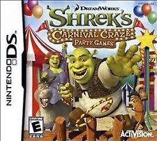 Shrek's Carnival Craze Party Games (Nintendo DS, 2008)