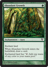 4x Abundant Growth NM-Mint, English Avacyn Restored MTG Magic