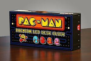 PAC-MAN-Premium-LED-Desk-Clock-Officially-Licensed-Merchandise