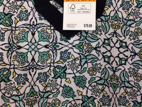 $79.00 Jones New York 100/% Linen Blouse New Women/'s Small S Teal White MSRP