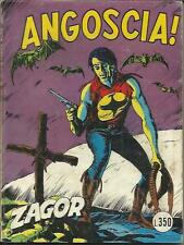 ZAGOR n° 85 - scritta rossa (Daim Press, 1977)