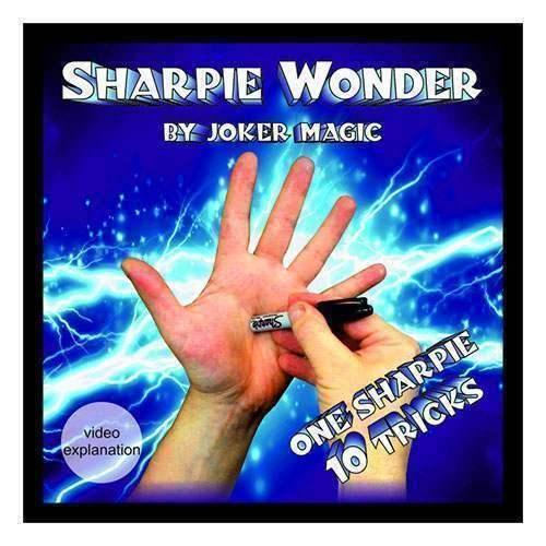 Sharpie Wonder por Joker Magia - Close-up Magia - Juegos de la Magia