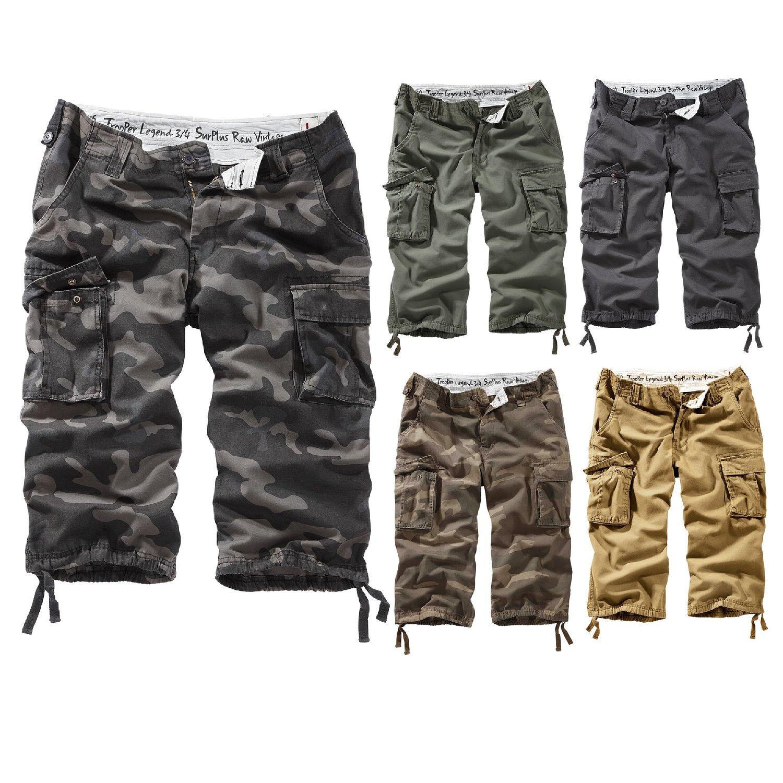 Surplus Trooper Legend 3 4 Shorts Ranger Bermuda Men's Us Trousers 5601