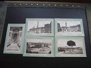 "ITALY (ITALIA). LOT of 5 VINTAGE POSTCARDS ""ROMA"" by ALTEROCCA-TERNI, UNUSED - Dublin, Dublin, Ireland - ITALY (ITALIA). LOT of 5 VINTAGE POSTCARDS ""ROMA"" by ALTEROCCA-TERNI, UNUSED - Dublin, Dublin, Ireland"