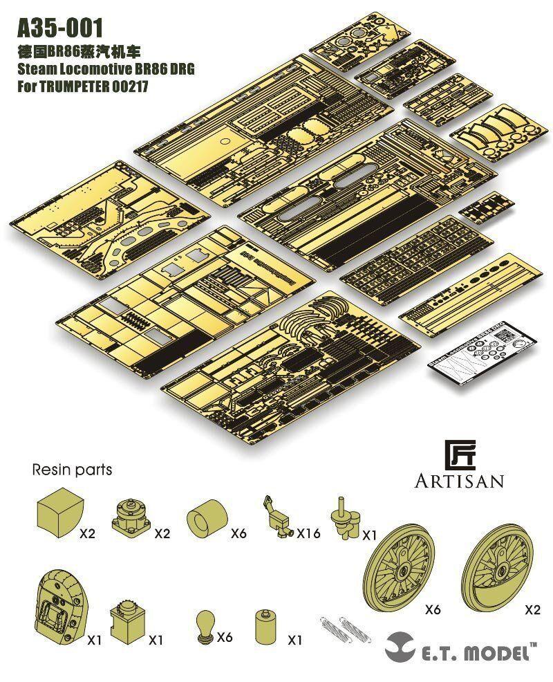 Et modelo a35001 1 1 1   35 br86 drg detalles - bocina 00217 paquete de lujo c74