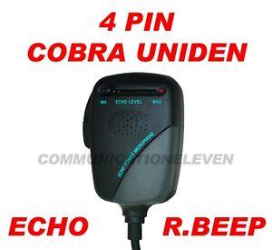 PIHERNZ-PC-478ESR-Presque-comme-neuf-452-CB-Power-ECHO-MIC-Roger-BIP-4-Pin-COBRA-Uniden-nouveau