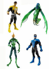 "DC Universe Green Lantern 6"" figure of 4 set  unoboxed, Blackest Night"