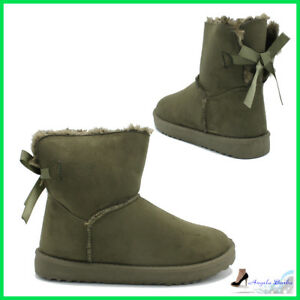 17449ab10da Details about Booties women's Winter with Fur Boots Warm Ankle boots Hair  Snow