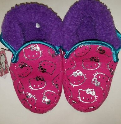 Womens Sanrio Hello Kitty Pink House Slippers Size 5//6