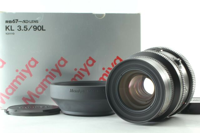 [MINT in Box] MAMIYA KL 90mm f3.5 L Lens for Pro S SD RZ67 from Japan 891