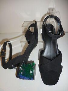 wide fit sequin shoes