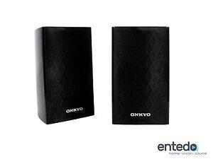 2-Sat-Lautsprecher-vom-Onkyo-SKS-HT528-SKR-528-Heimkino-Speaker-Boxen-NEU