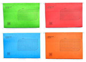 EXTRA-CAPACITY-FOOLSCAP-SUSPENSION-FILES-WITH-TABS-AND-INSERTS-amp-HEAVYWEIGHT