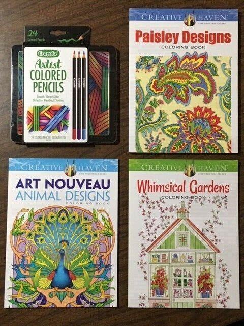Crayola Colored Pencils Set, Artist Colored Pencils For ...