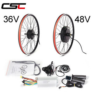 electric bicycle Conversion Kit with Battery 36V 500W hub Motor wheel 20-29inch