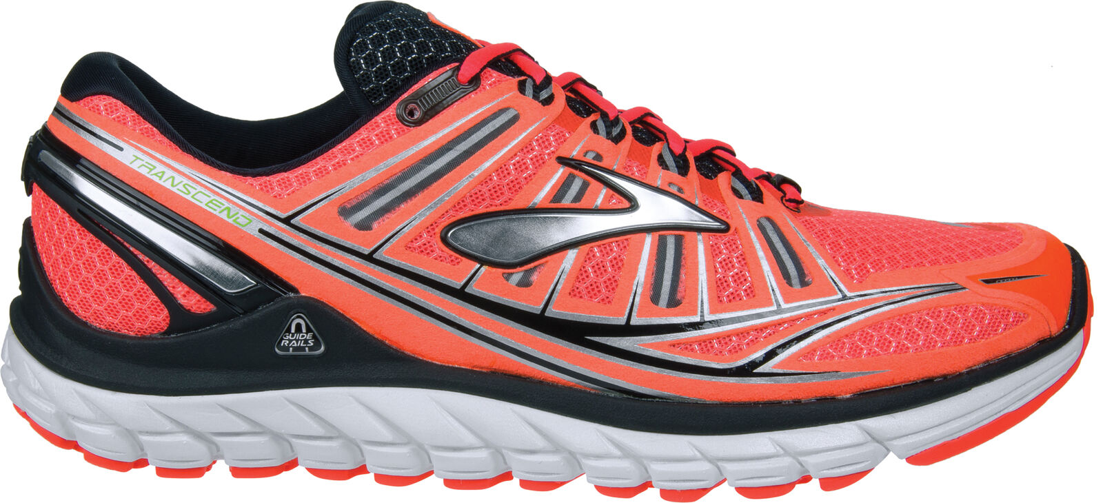 Brooks Transcend Mens Running shoes - orange
