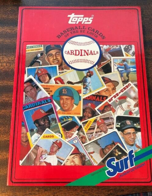 TOPPS BASEBALL CARDS OF THE ST. LOUIS CARDINALS STAN MUSIAL BOB GIBSON MLB HOF