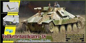 DRAGON 6815 Maquette Vollkettenaufklaerer 38 et canon 7.5cm 51 L/24