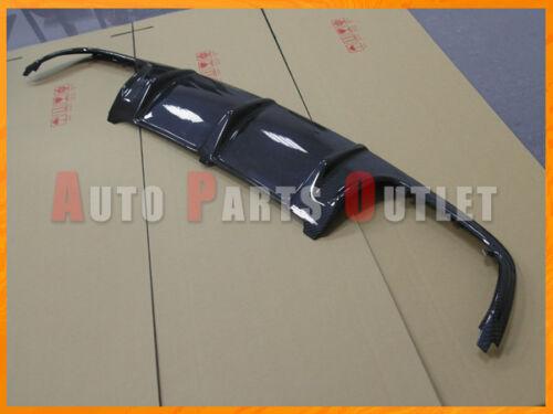 C63AMG Style Carbon Fiber Rear Bumper Diffuser Kit For 08-11 W204 C300 C350 4Dr