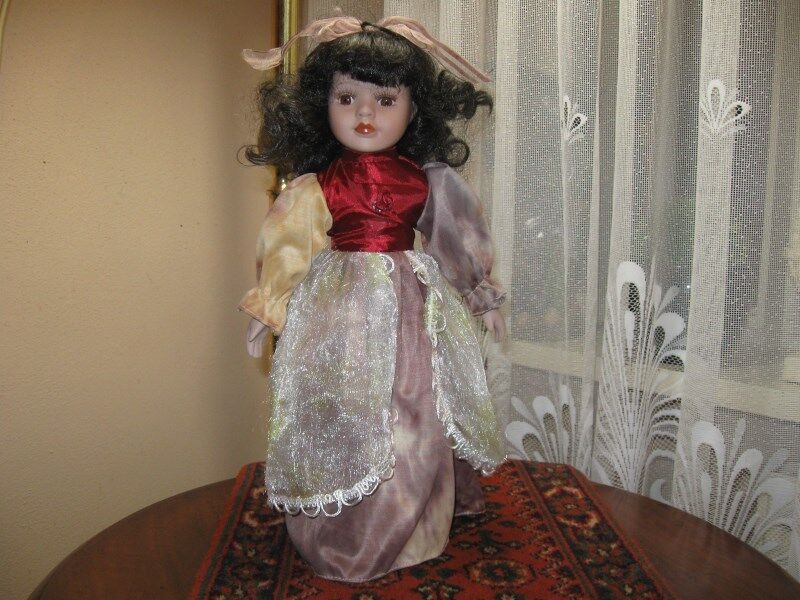 Vintage Europe Porcelain Doll Trudi 38 CM