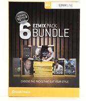 Toontrack Ezmix 6 Pack Bundle (ezmix Pack 6-pk) on Sale