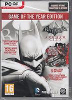 Batman Arkham City Goty Pc Game Of The Year Edition Brand Sealed Fast Ship