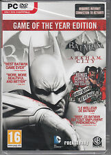 Batman Arkham City GOTY PC Game of the Year Edition Brand New Sealed Fast Ship