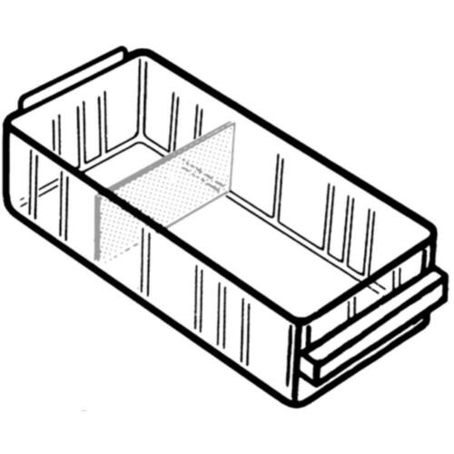 RAACO Schubladen transparent 41 x 67 x 153 mm Typ 150-0