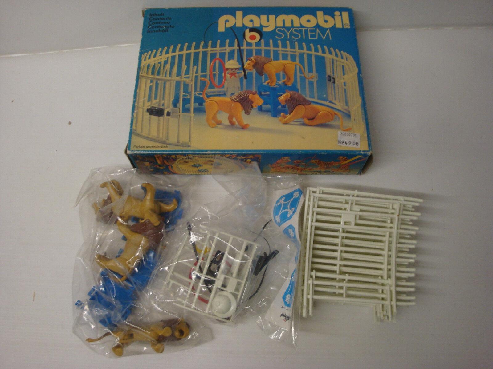 Playmobil Klicky Zustand in Schachtel Packung versiegelt dresseur Löwe Zirkus