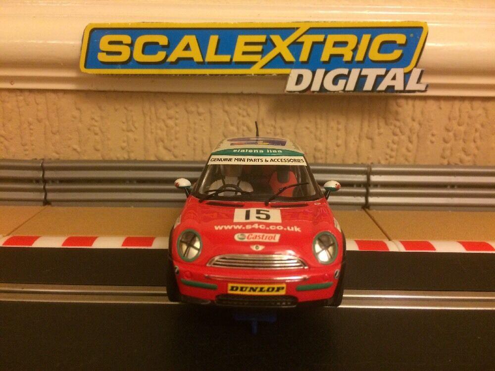 Célébrez les voeux du Nouvel An Scalextric Digital Mini Mini Mini Cooper John Cooper Challenge No.15 Excellent C2563 3f7b39