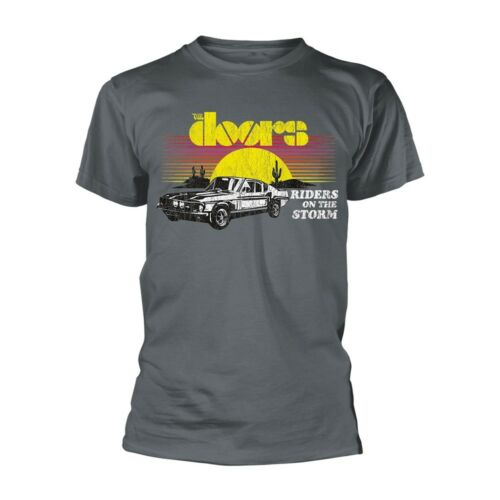 THE DOORS Riders On The Storm T-Shirt All Sizes NEW /& OFFICIAL Jim Morrison Logo