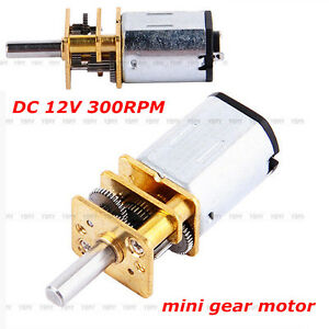 Dc 12v low rpm mini ga12 n20 gear motor gearwheel model for Low rpm motor dc