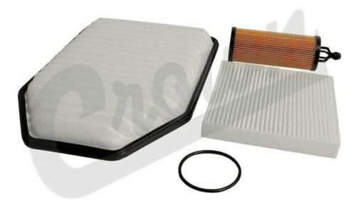 Air Oil and Cabin Air Filter Fits Jeep 2014 To 2018 JK Wrangler 3.6L Crn-MFK24