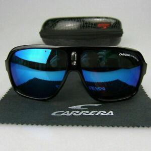 2019-New-Fashion-Men-Women-Unisex-Sunglasses-Aviator-Matte-Black-Carrera-Glasses