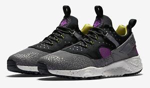 Supresión bueno lanzadera  New Nike Air Huarache Utility Safari Men's SZ 8 Athletic Sneakers  806979-500   eBay