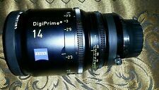 Zeiss 14mm T1.5 DigiPrime Distagon Cine Lens