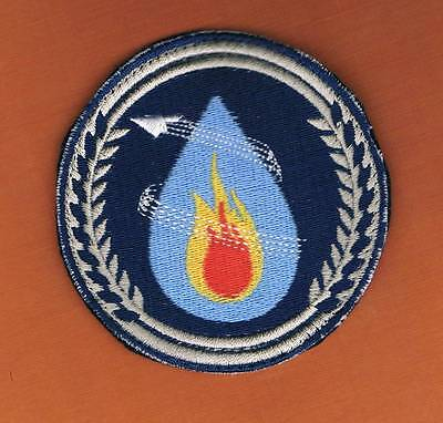 AIRPORT FIREFIGHTER PATCH ISRAEL