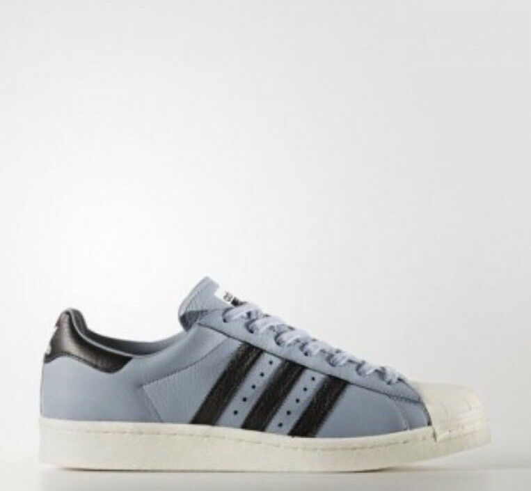 Adidas Original SUPERSTAR BOOST Men's Atletic/Sneaker US 13 Blue/White BZ0203