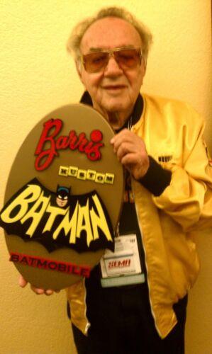 BATMOBILE SIGN 3D CAR ART sign display custom club Batman Barris Kustom TV 1966