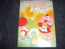Strawberry Shortcake's Springtime Dot-to-Dot Fun Book - Lots of Coloring 1983 *