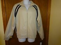 Men's Consensus Beige / Black Jacket M Msp $54.00 Soft Wind /water Resistant
