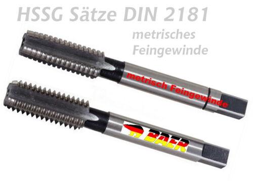 VÖLKEL Handgewindebohrer Fertigschneider HSS-G M 7X0,5 DIN 2181