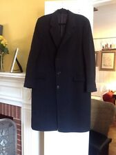 Christian Dior Paris For Saks Fifth Avenue , Black Wool Coat 44