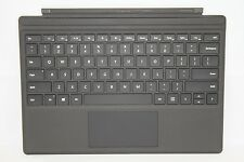 Genuine Microsoft Surface Pro 4 Type Cover Backlit Keyboard Black 1725 QC7-00001