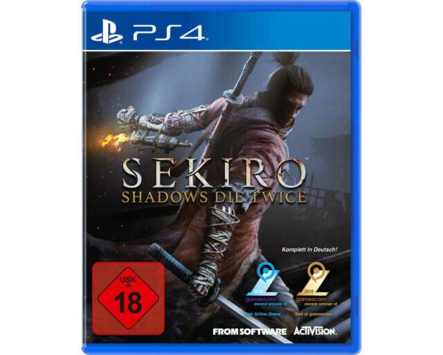 Sekiro™ - Shadows dieTwicePS4 Artikel NEU Verpackung leicht beschädigt