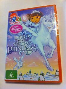 Dora-the-Explorer-Dora-Saves-the-Snow-Princess-Region4-DVD-BRAND-NEW
