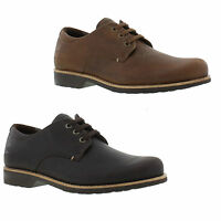 Panama Jack Kito Mens Brown Lace Up Leather Waterproof Shoes