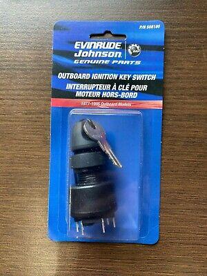 NEW OEM Johnson Evinrude OMC BRP Igntion Key Starter Switch PN 0508180 508180